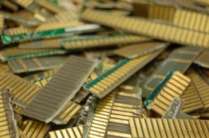 Electronics Scrap Recycling - Electronic Fingers