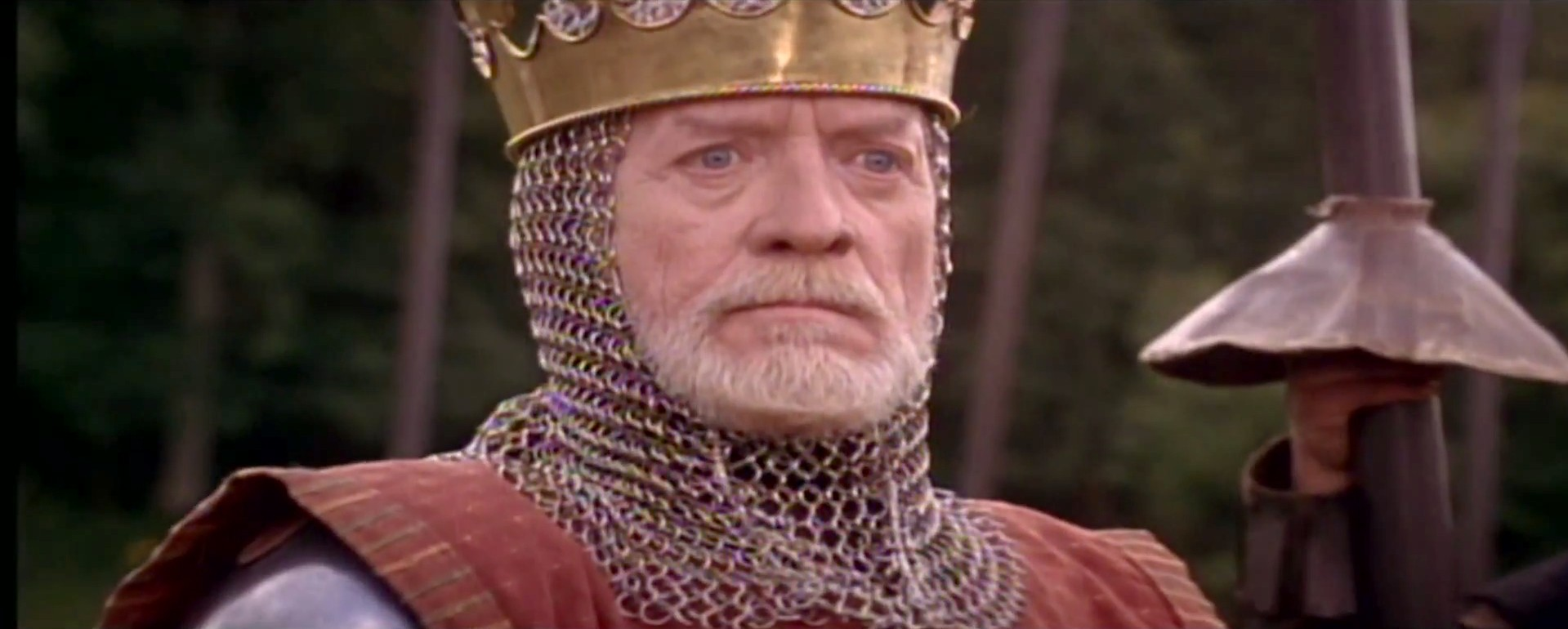 Patrick McGoohan Longshanks King Edward I