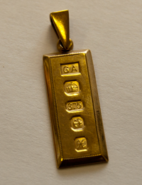 9ct Gold Price Ingot