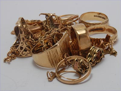 Scrap Gold Purchased on 16th April 2013